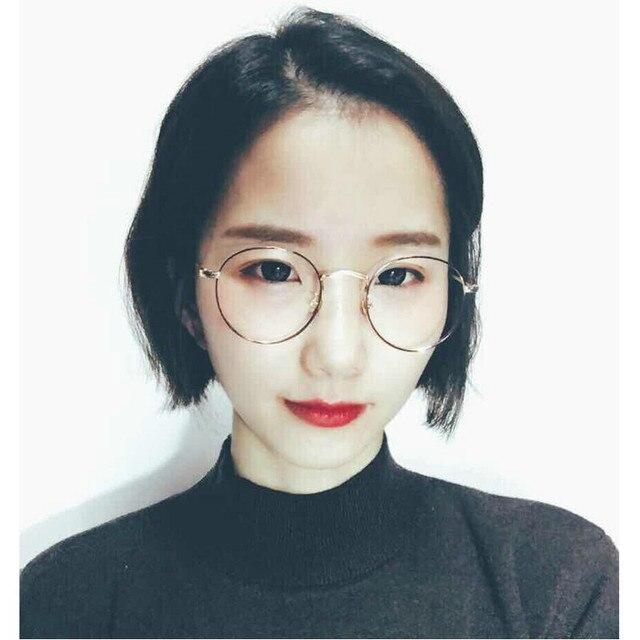 22ecba9083 MINCL 2017 Newest Punk style Eye glasses frames for Men Fashion Metal Glasses  frames Women Retro Round Eyeglasses frames FML