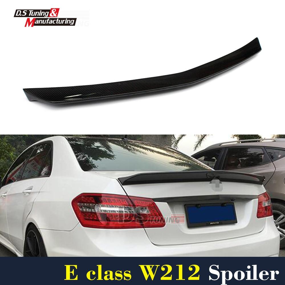 ⓪Mercedes W212 Veath Style Carbon Fiber Spoiler For Benz E Class ...