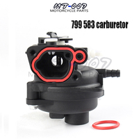 New 799 583 Carburetor Replacement for Briggs and Stratton Lawn mover Accessories free shipping