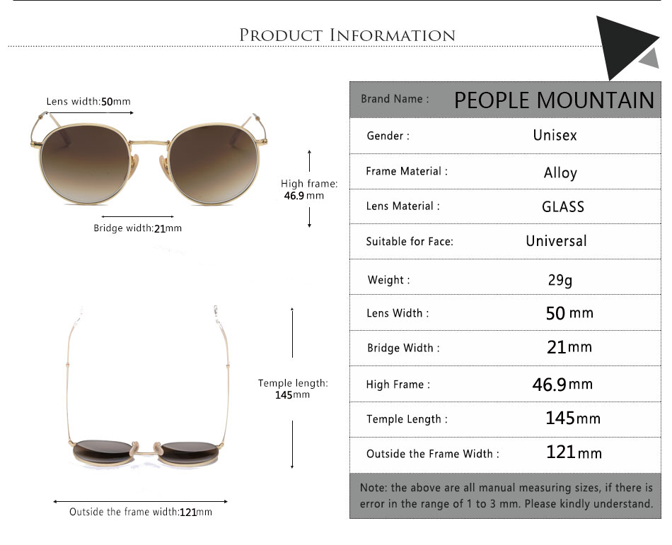 HTB1IdHOh8TH8KJjy0Fiq6ARsXXaw - Luxury Round Sunglasses Women Brand Designer 2018 Retro Sunglass Driving Sun Glasses For Women Men Female Sunglass Mirror 3447