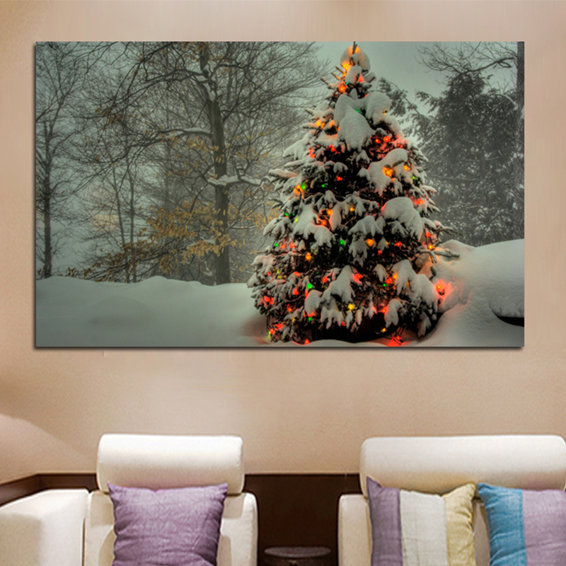 Home Decorators Discount: Promotional Christmas New Year Decorations For Home Canvas