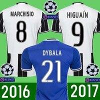TT Sales 2017 Top Best Qualit Juventuses Soccer Jersey Adult Shirt 16 17 Home Away 3RD