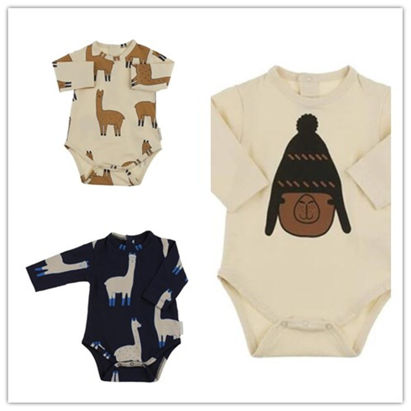 2017 Autumn Baby Boy Girl Tiny Cotton Romper Jumpsuit Outfits Clothes 0 24M Newborn Grass Mud