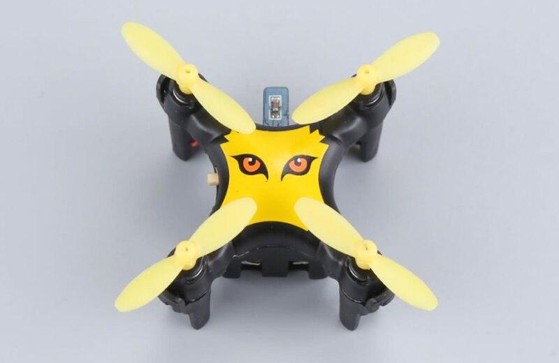 2018 poche chaude MINI RC Drone garçon jouet 2.4G 6 axes gyroscope une clé démarrage 3D rouleau capteur de gravité RC quadrirotor hélicoptère meilleur cadeau - 4