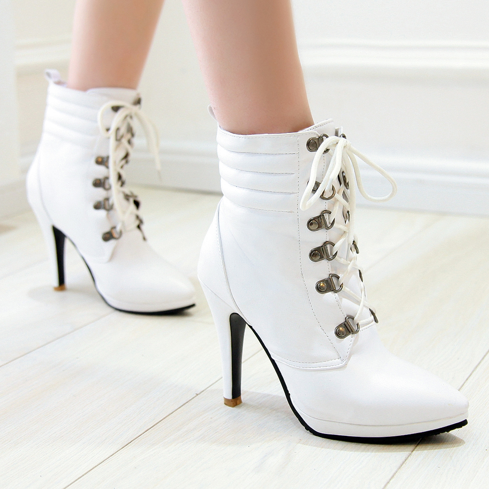 White Boots For Women Cr Boot