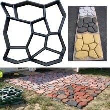 Transfrontalier pour les carreaux de sol en ciment de vente chaude européens et américains bricolage moule de pavage moule de chaussée