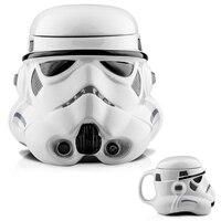 3D Seramik Kahve kupa çift duvar çay bardağı Star Wars Darth Vader ve beyaz şövalye seramik star wars kupa bardaklar