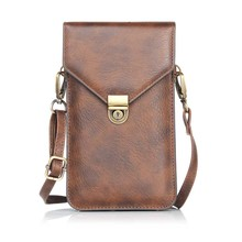 SUBIN узор в виде носорогов кожаный сотовый телефон сумка кошелек Роскошный двухслойный шейный ремень сумка на плечо для iPhone samsung huawei