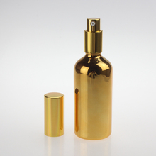 high-grade glass body lotion bottle, 100ml bottle for personal care