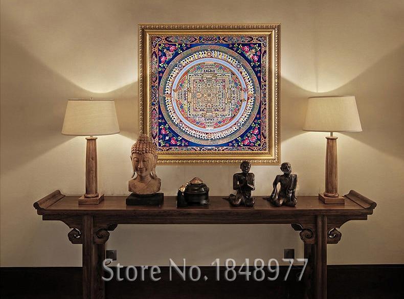 Online kopen Wholesale buddhist art paintings uit China buddhist ...