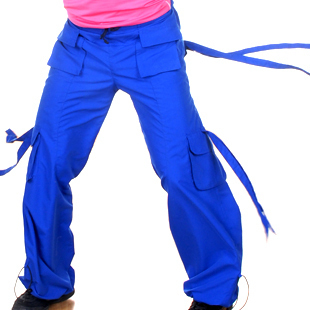 BODY JAM Hip Hop SAMBA PARACHUTE Rave Cargo Pants 5 SZ