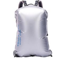 Trackman Portable Outdoor PVC Waterproof Diving Bag Travel Dry Bags Kayak Canoe Rafting Bag 30L Waterproof Double-Shoulder Bag