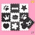 Desarrollo Suave de los niños Mapas Alfombras Número Puzzle Carta Bebé Playmat Alfombra Niños Alfombra Del Piso de Espuma EVA Dibujos Animados Juegos Mickey estera
