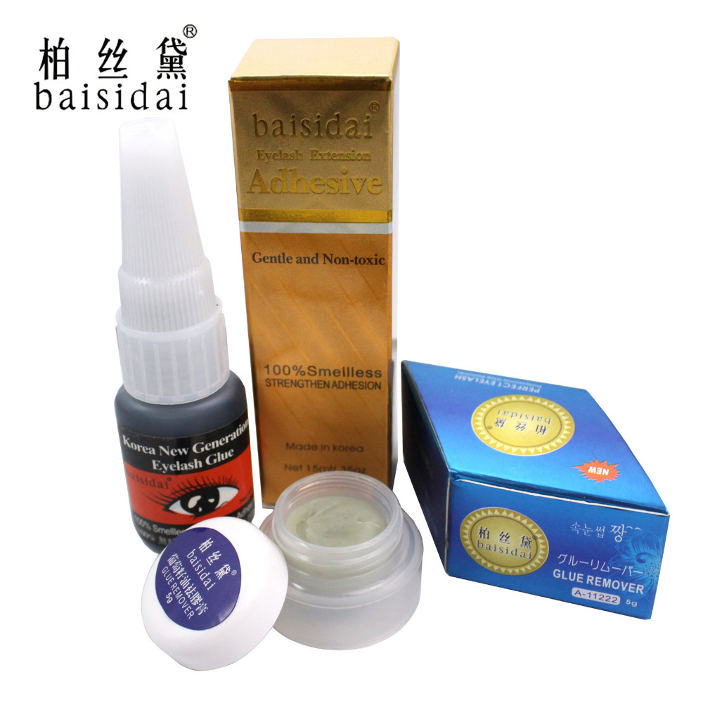 Baisidai Professional Grape Seed Oil Glue Remover Lashes Eyelash