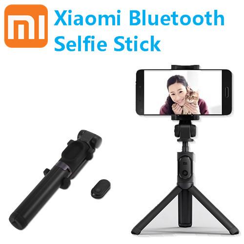 Prix pour Original nouveau xiaomi selfie bâton bluetooth télécommande trépied titulaire