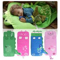 Cartoon Soft Baby Sleeping Bag Camping Warm Napping Bag Indoor Kids Game Toy Play Mat Cushion Carpet Rug Playmat for Children
