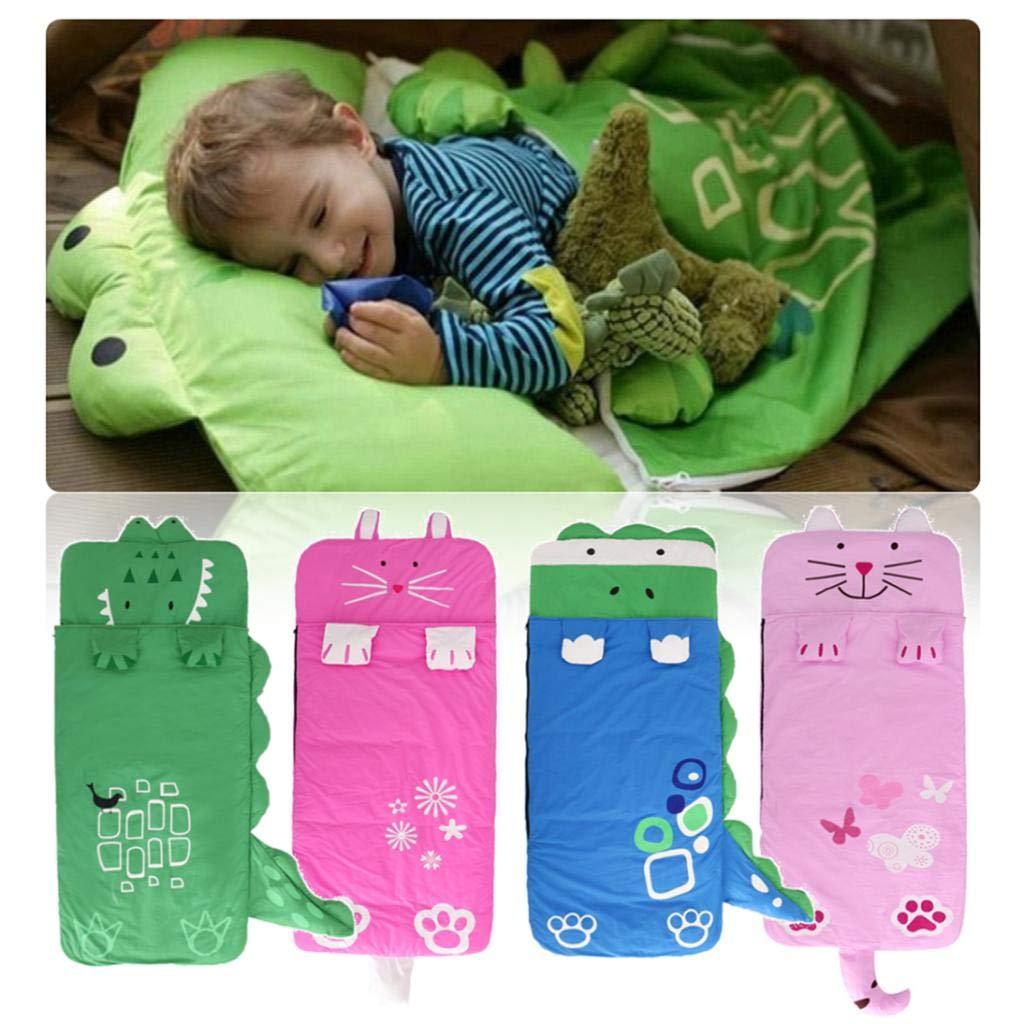 Cartoon doux bébé sac de couchage Camping chaud sieste sac intérieur enfants jeu jouet jouer tapis coussin tapis tapis de jeu pour enfants