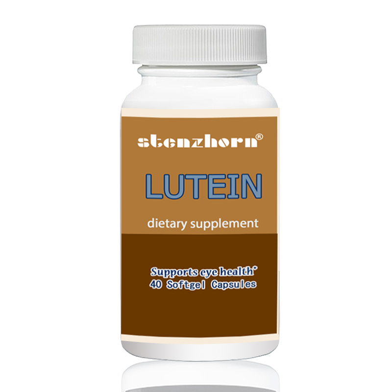 LUTEIN 40MG 40 Softgels Antioxidant & Carotenoid* Promotes Eye Health* Derived From Marigold Plant*