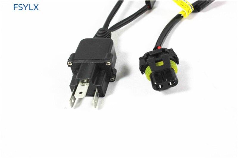 ⑦fsylx car w w h hb hid xenon controller relay cable