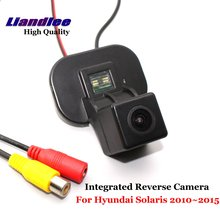 Liandlee For Hyundai Solaris 2010~2015 Car Rearview Reverse Camera Backup Parking Rear View Camera / Integrated SONY CCD HD liandlee car rear reverse camera for hyundai terracan 2001 2010 rear view backup parking camera sony integrated high quality