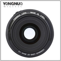 ONGNUO YN35mm F2 Lens Wide Angle Fixed Prime Auto Focus Lens For Canon 35mm EOS 60D