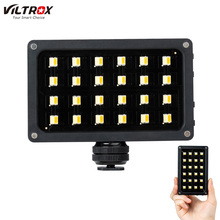 Viltrox RB08 דו צבע 2500 K 8500 K מיני וידאו LED אור נייד למלא אור מובנה סוללה עבור מצלמה טלפון ירי סטודיו