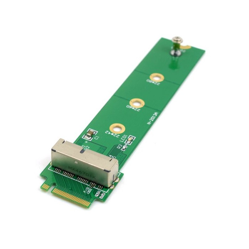 Adapter Card To M.2 NGFF X4 Adapter NGFF-312B For Apple MacBook Air Mac Pro 2013 2014 2015 A1465 A1466 SSD for Desktop Computer