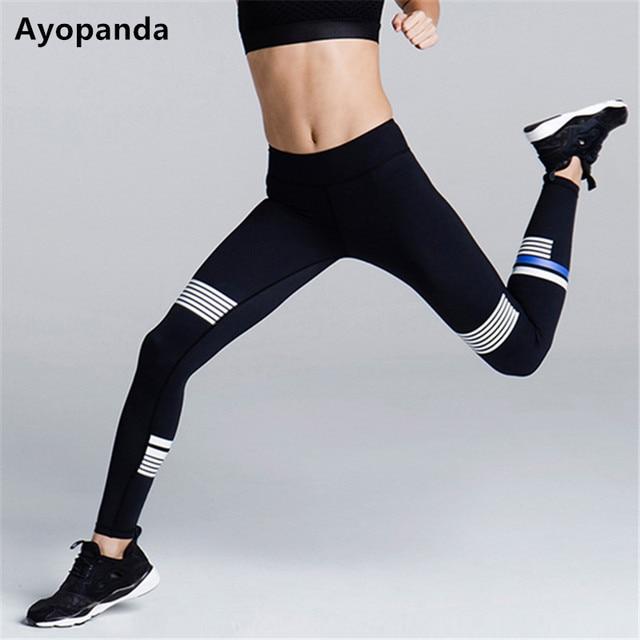 c34b541732 Ayopanda Print Panel Fitness Gym Sports Legging Coco Super Future Yoga  Pants Women High Quality Running Tights Jogging Pants