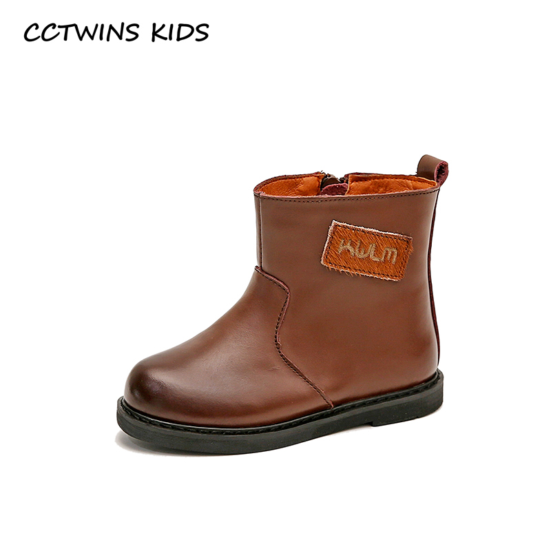 CCTWINS KIDS 2018 Autumn Baby Boy Genuine Leather Boot Girl Fashion Ankle Boot Children Black Shoe Toddler CF1502 cctwins kids 2018 autumn baby boy fashion black boot children genuine leather shoe girl brand ankle boot toddler cf1505