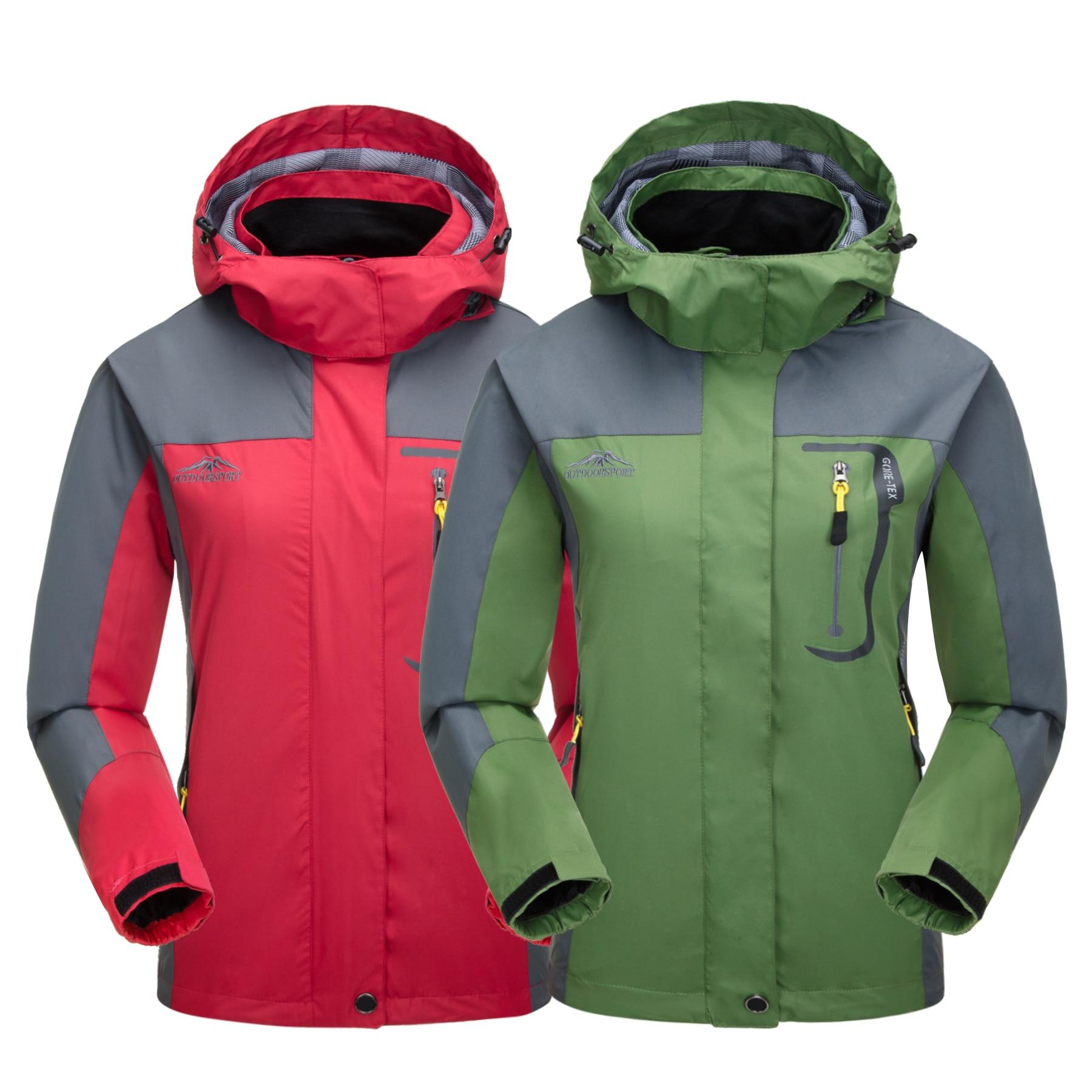 NEW Women Outdoor Camping Hiking Climbing Jacket Coat Top Outwear Windbreaker Sports Apparel Tracksuit Sweater Athletic Blazers