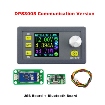 DPS3005 USB Bluetooth Communication Constant Voltage Current Step-down Power Supply Module Voltage Converter LCD Voltmeter
