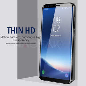 Image 5 - NAGFAK 5D Curved Edge Full Cover Screen Protector For Samsung Galaxy S9 S8 Plus Note 8 Tempered Glass On The S9 S8 Glass Film