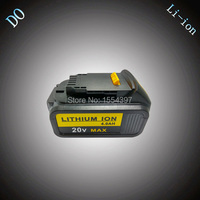 4000mAh Rechargeable Lithium Ion Power Tool Battery Replacement For DEWALT 18V DCB180 DCB181 DCB182 DCB200 DCB201