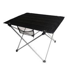屋外デスク折りたたみ超軽量テーブルキャンプピクニック7075 al合金実用ブラックlサイズデスクホーム屋外ダイニング家具