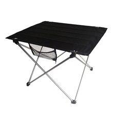 Outdoor Schreibtisch Faltbare Ultraleicht Tisch Camping Picknick 7075 Al Legierung Praktische Schwarz L Größe Schreibtisch Home Outdoor Esszimmer Möbel