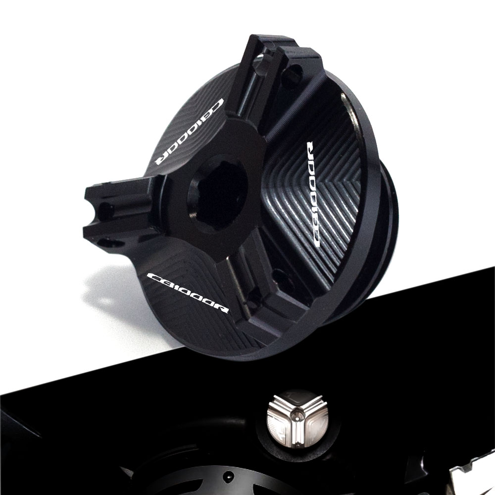 Color : Black Motorcycle Aluminum Oil Filler Cap Plug Cover Engine Oil Cup for Honda CB1000R 2008-2020 NEOSPORTCAFE 2018-20 M20*2.5