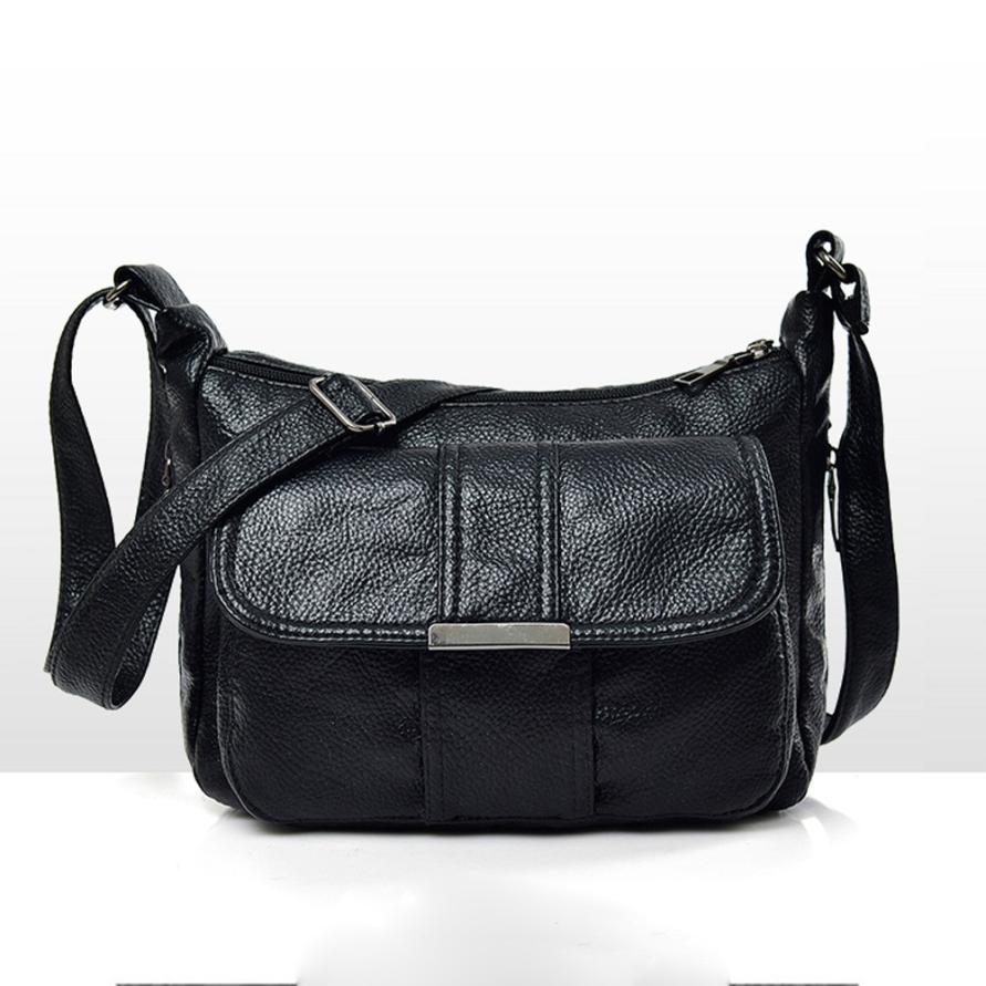 Molave Shoulder Bag new high quality Vintage Pure color Leather Crossbody Messenger Satchels shoulder bag women ap17