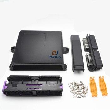 1 set 56 pin way automotive aluminium ecu gehäuse box mit passenden FCI männlichen und weiblichen stecker