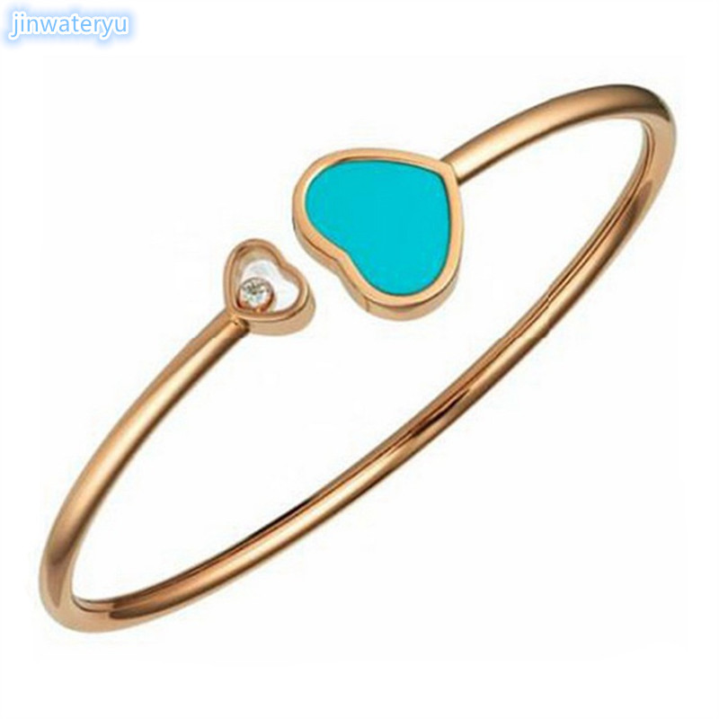 jinwateryu 2019 stainless steel genuine heart-shaped bracelets Europe and the United States bracelet network explosion models jinwateryu 2019 stainless steel genuine heart-shaped bracelets Europe and the United States bracelet network explosion models