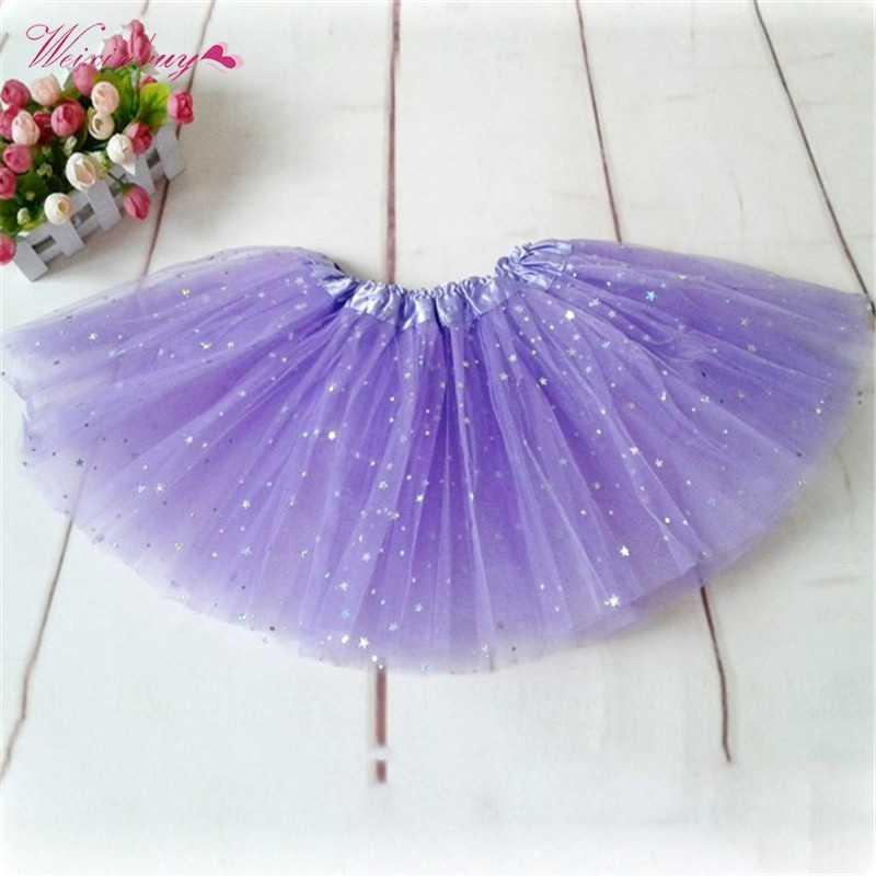 ベビースカートチュチュプリンセスパーティーバレエダンスの摩耗ペチコート服 16 色