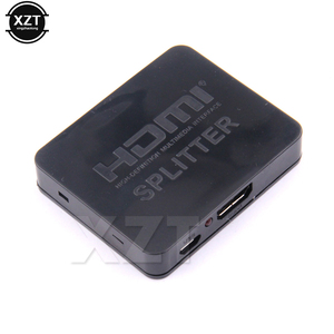 Image 5 - HDMI Splitter 1 in 2 out 1080p 4K 1x2 HDCP Stripper 3D Switcher 2 Port Hub For HDTV DVD PS3 Xbox TV BOX Monitor