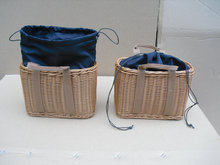 Rattan shopping basket, grocery flower picnic, pet, fruit handbag, home storage