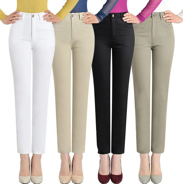 2017 Hot Sale Spring And Summer Straight Women Pants