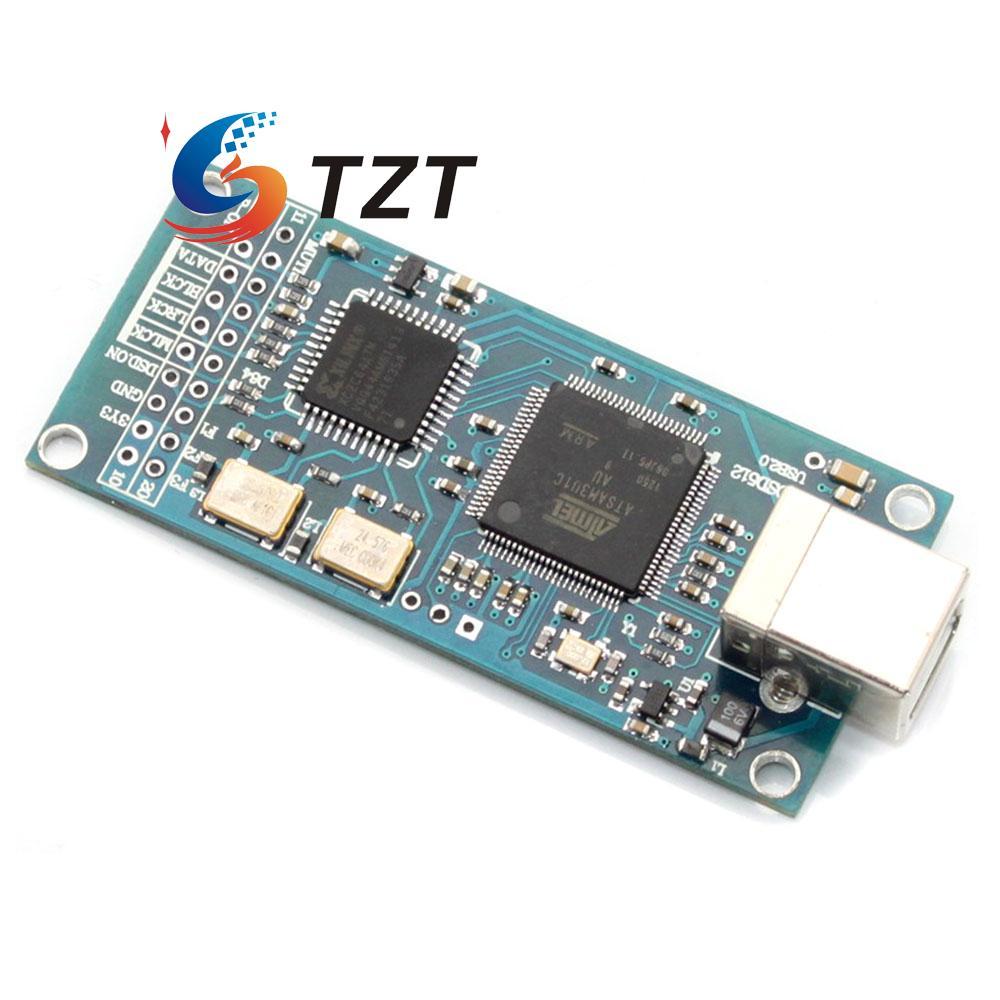 HIFI Combo384 USB à I2S Interface Numérique Se Référer à Amanero USB IIS Soutien DSD512 32bit 384 K I2S Sortie pour Audio