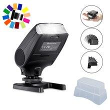 جديد مصباح فلاش صغير Speedlite مايكه MK320 TTL فلاش لكانون EOS 5DII 6D 7D 40D 50D 60D 70D 550D 600D 650D 700D 580EX 430EX كاميرات