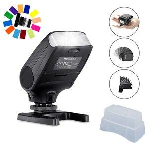 Image 1 - جديد مصباح فلاش صغير Speedlite مايكه MK320 TTL فلاش لكانون EOS 5DII 6D 7D 40D 50D 60D 70D 550D 600D 650D 700D 580EX 430EX كاميرات