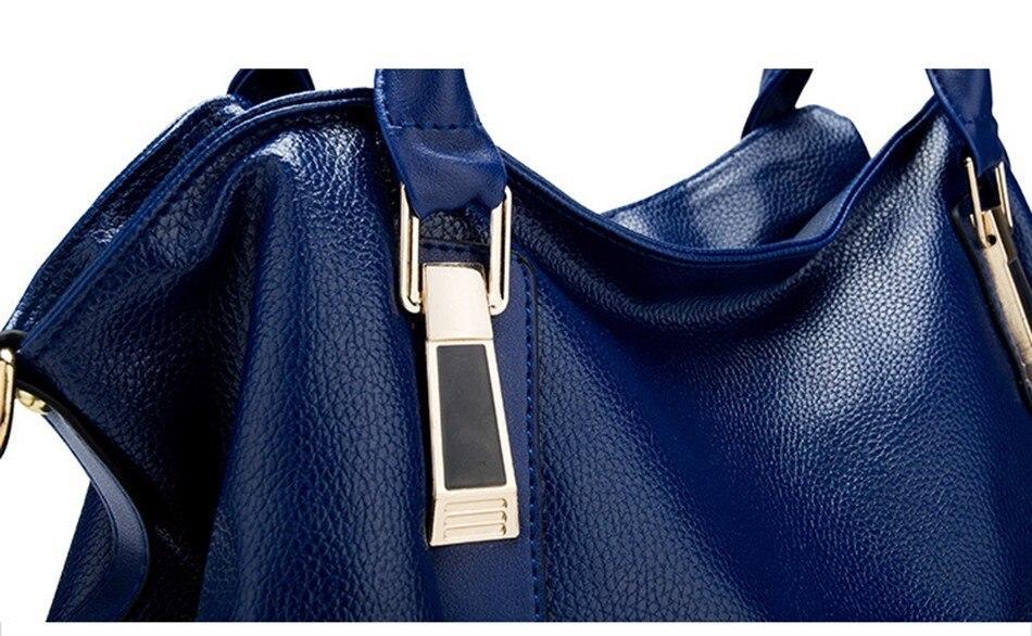Hazy beauty Women Handbag Female PU Leather Bags Handbags Ladies Portable Shoulder Bag Office Ladies Hobos Bag Totes 84