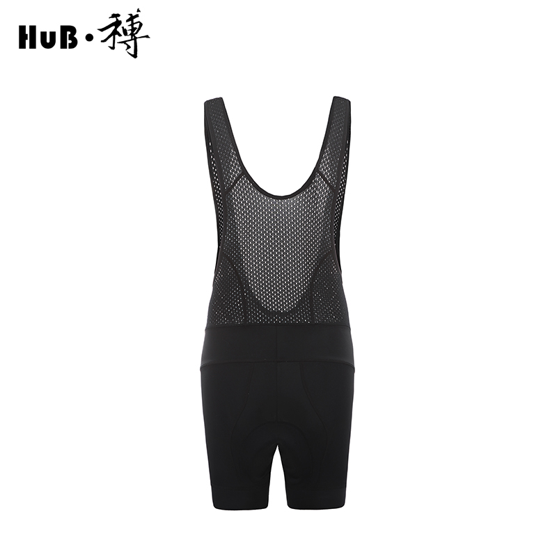 HuB Professional sports summer Men 39 s riding Hollow strap shorts 3D padded mtb breathable Quick drying bicycle Bib shorts in Cycling Bib Shorts from Sports amp Entertainment