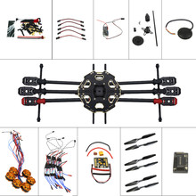 JMT Helicopter Drone 6-axis Aircraft Kit Tarot 680PRO Frame 700KV Motor GPS APM 2.8 Flight Control No Battery Transmitter