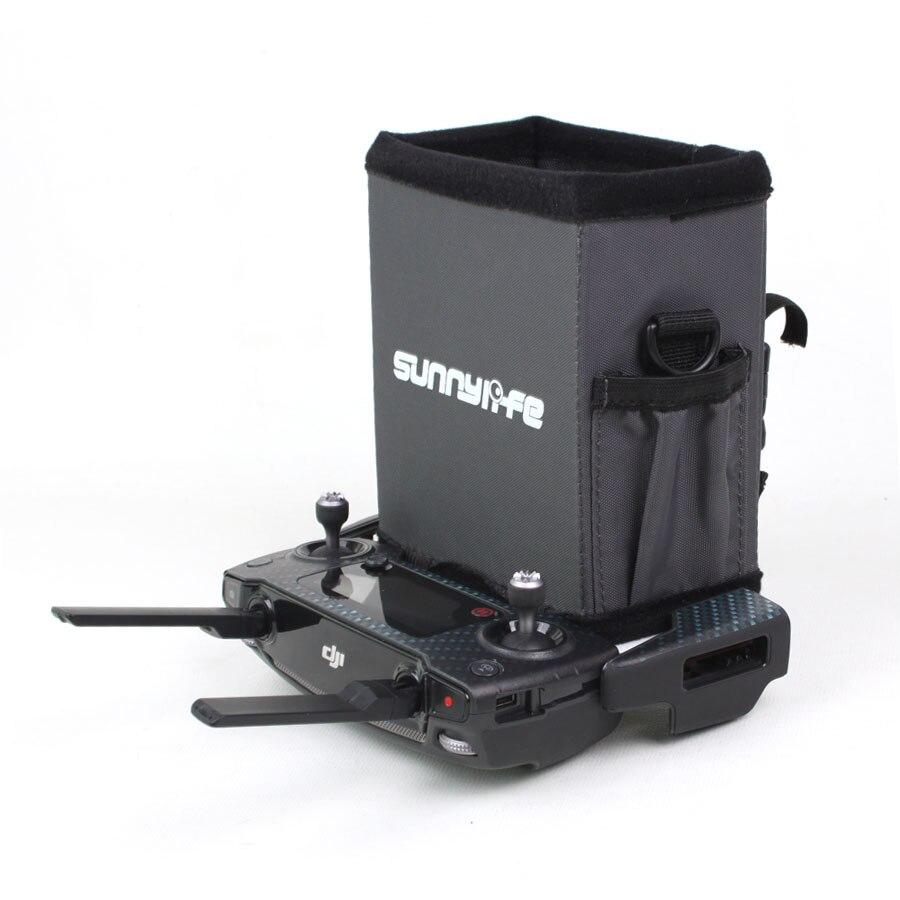 4.7in pouces Télécommande Capote Pliable All-surround Smartphone Pare-Soleil avec Sangle pour DJI Spark/Mavic Pro/Air Drone
